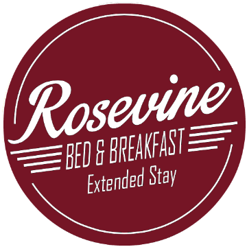 Rosevine Inn Bed & Breakfast and Extended Stay Lodging Logo