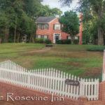 Rosevine Inn with Fence