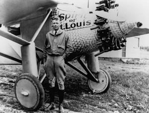 Lindbergh 10 days after flight
