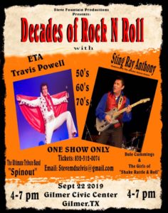 East Texas September Fun for the Whole Family
