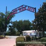 Entrance to Canton first Monday Trade days