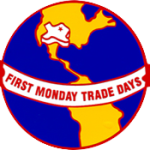 logo for Canton First Monday trade days