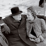 churchill and wife at thames_mini