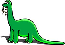 green dinosaur clip art
