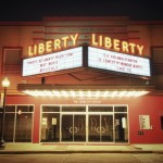Outside Liberty Theatre