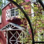 tyler texas staycation red barn at Rosevine Inn