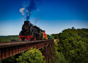 texas state railroad train ride